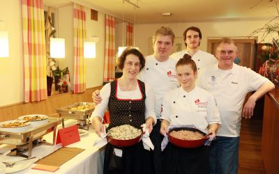 Eine-Welt-Dinner für Kolping International in Spalt