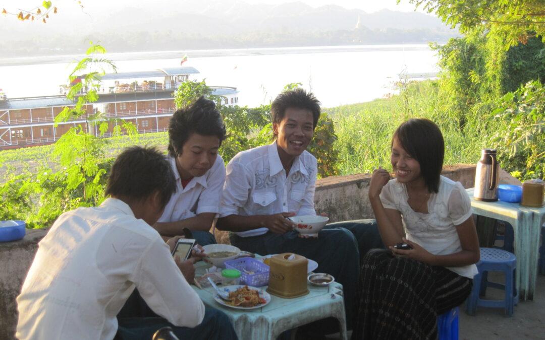 Ein neues Kochbuch aus Myanmar